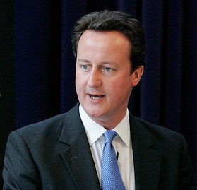 David Cameron, giving CPRE's Annual Lecture in May 2008. © CPRE / Nigel Keene